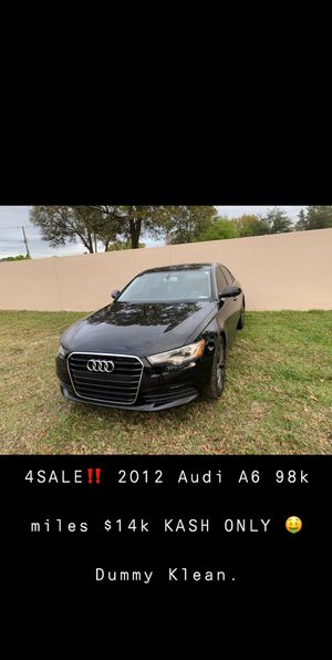 2012 Audi A6 Very Clean! for Sale in Largo, FL