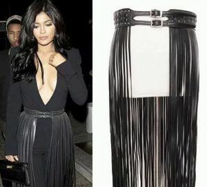 Neiman Marcus Faux Leather Fringe Skirt Belt-Sold Out Everywhere!! for Sale in Glendale, CA