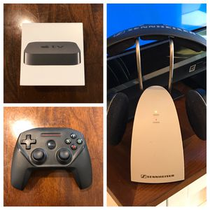 Apple TV 3 ~ Nimbus Controller ~ Sennheiser TV Headphones for Sale in San Diego, CA