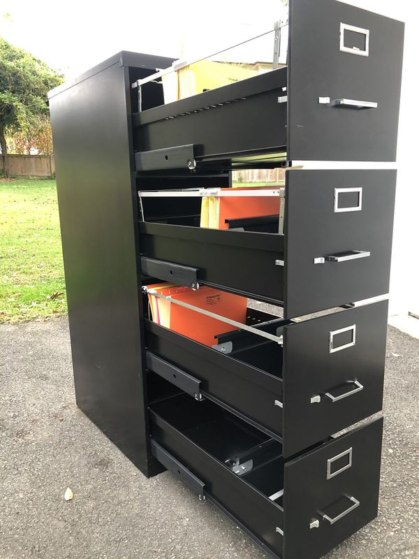 Premier. 4-Drawer Metal Filing Cabinet. Delivery available!🚚.