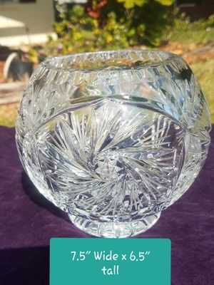 Beautiful Crystal Bowl for Sale in Winter Haven, FL