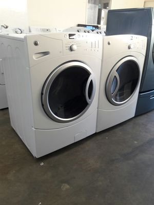 """27""""width GE front load washer and dryer set, stackable for Sale in Fort Washington, MD"""