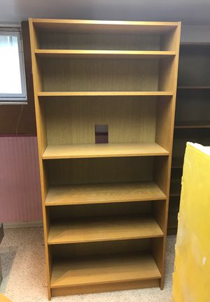 2 six food bookshelves for Sale in Seattle, WA