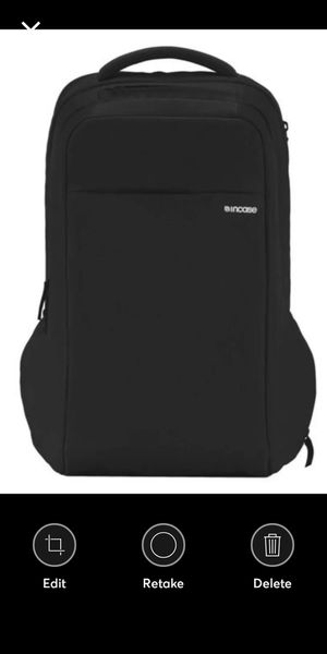 "Incase ICON Lite Backpack II For Any 13"" or 15"" MacBook Laptop Black Color - New for Sale in Rialto, CA"