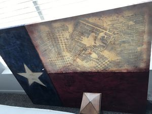 One of a Kind - Texas Flag Painting 60x40 for Sale in Pflugerville, TX
