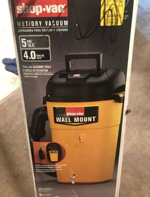 Shop-Vac Wall-Mount. Wet/Dry Canister Vacuum for Sale in Arlington, VA
