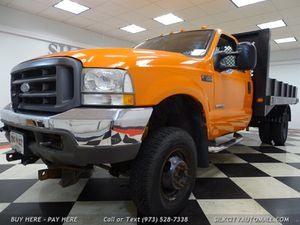 2004 Ford F-350 SD 4x4 Flatbed Diesel LOW Miles for Sale in Paterson, NJ