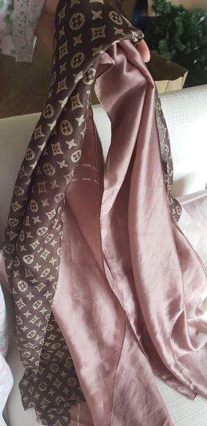 Louis Vuitton Silk Long Scarf ♡ for Sale in Lake Angelus, MI