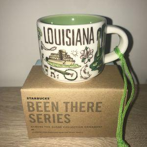 Starbucks Mug Ornament Louisiana Mug Been There Series BTO for Sale in Sterling, VA