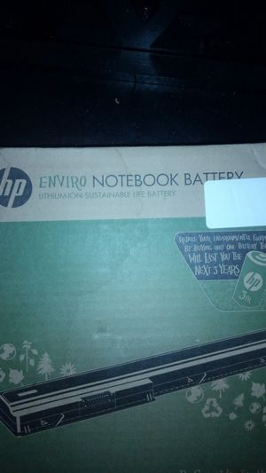 HP Notebook battery for Sale in Largo, FL