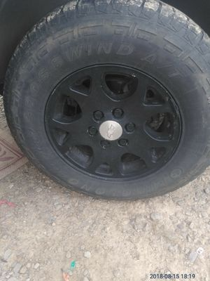 Rims and tires asking $250 265/70/17 for Sale in Pickens, AR