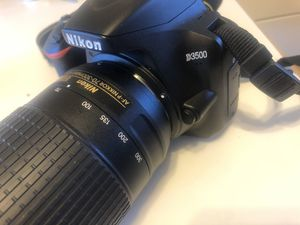 Nikon D3500 - kit (2 lenses) for Sale in Columbus, OH
