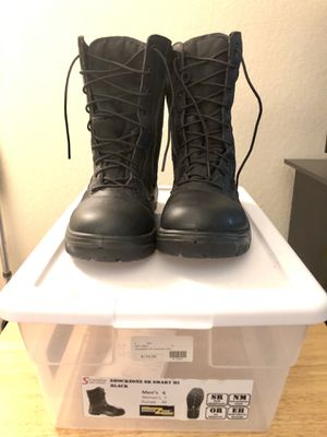 Sonoma Boot Company ShockZone SR Smart Hi Work Boots (Black) for Sale in Fairfield, CA