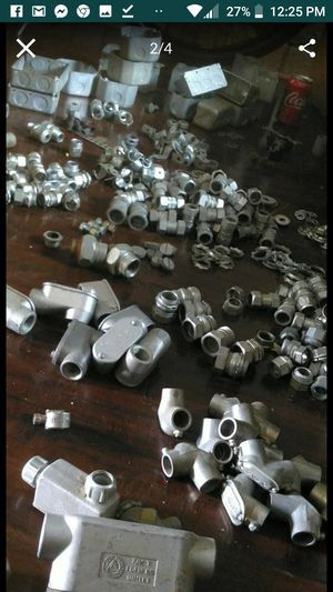 Over 1000 EMT FITTINGS AND ELECTRICAL BOXES for Sale in Rancho Cucamonga, CA