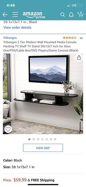 Floating TV Wall Shelf for Sale in Lanham, MD