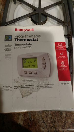 Honeywell thermostat for Sale in San Diego, CA