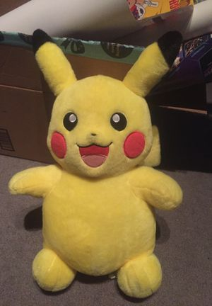 Large pikachu build a bear stuffed animal plush for Sale in Lakeside, CA
