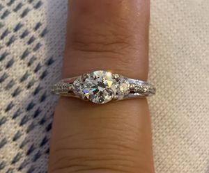 Tacori 18k white gold diamond ring for Sale in Lakewood, CO