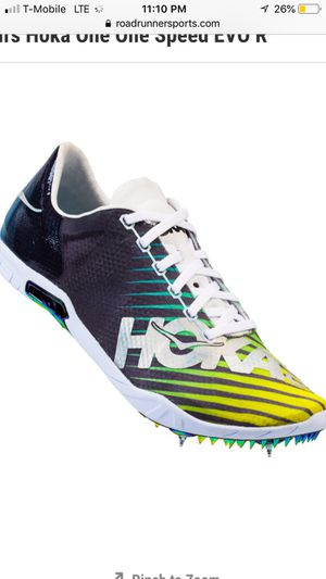 mens hoka one one speed EVO R distance spikes for Sale in Cerritos, CA