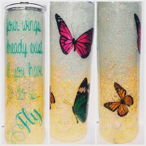 Butterfly tumbler for Sale in NJ, US