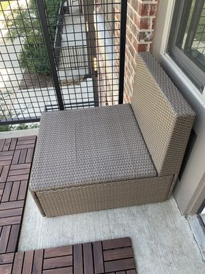 IKEA SOLLERÖN outdoor sofa section couch for Sale in Farmers Branch, TX