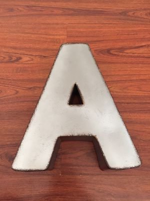 """Metal Standing or Hanging Letter """"A"""" for Sale in Pomona, CA"""