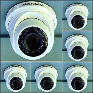 6 1080p Security cameras with instalation.. hablo espanol for Sale in Cedar Hill, TX
