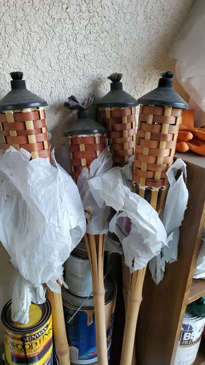 5 tiki torches for Sale in Spring Hill, FL