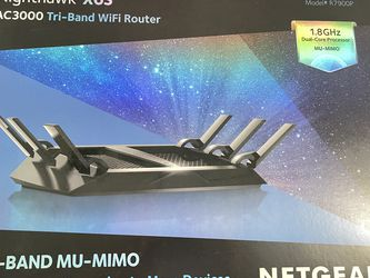 Netgear Nighthawk X6s Ac3000 Tri-band Wifi Router (r7900p) for Sale in Rancho Cucamonga,  CA