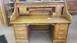 Large Antique Roll Top Desk for Sale in Denver, CO