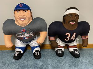 Chicago Forever Collectibles Kris Bryant and Walter Payton for Sale in Olathe, KS