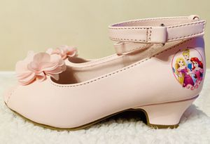 9T Pink Disney Ankle Strap Peep Toe Heel for Sale in Walton Hills, OH