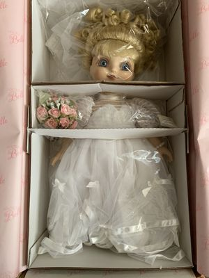 """""""Wedding Belle"""" Adora Belle by Marie Osmond Hand Numbered #449 Collector Doll for Sale in Moundsville, WV"""
