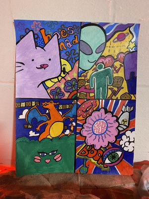 Trippy Poster for Sale in North Olmsted, OH