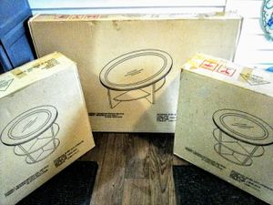NIB 3pc Coffee & End Tables Set for Sale in Lock Haven, PA