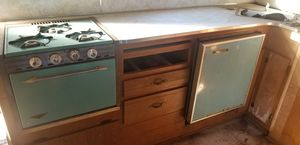 1965 Camper Fridge and Stove with matching Hood Vent for Sale in Bonney Lake, WA