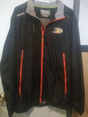 Anaheim Ducks Reebok jacket size Large for Sale in Anaheim, CA