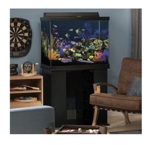 56 gallon fish tank & stand for Sale in Snohomish, WA