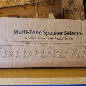 Pyle Multi Zone Speaker Selector 6 Channel for Sale in Anaheim, CA