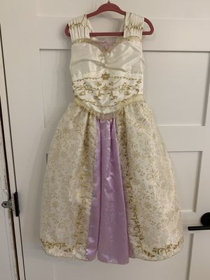 Disney Store Rapunzel Wedding Dress 4 for Sale in Tigard, OR
