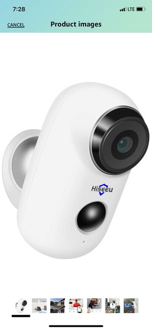 Home Security Camera,Wireless Rechargeable Battery Powered WiFi Camera,Night Vision, Indoor/Outdoor, 1080P Video with Motion Detection, 2-Way for Sale in South Pasadena, CA