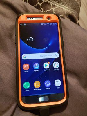 Blue Galaxy S7 Edge for Sale in Buffalo, NY