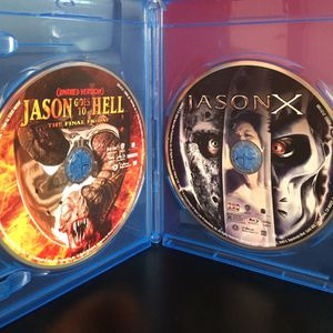 Friday the 13th (3, 9, X - Uncorrected Disc) / Freddy Vs. Jason Blu-Ray Bundle for Sale in Rocky Mount, NC