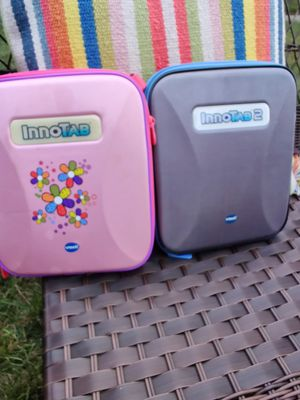 Vtech innoTab learning app for kids they come with chargers and games for Sale in Roselle, IL