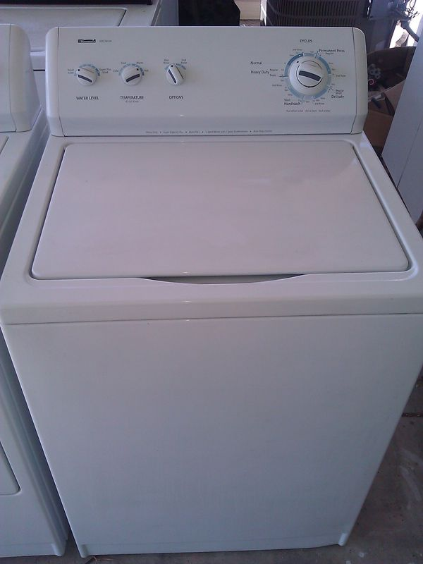 KENMORE WASHER. WORKS GREAT. WASHES VERY GOOD.