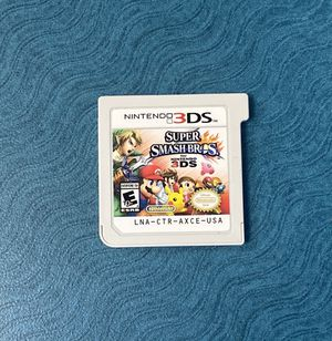 Super smash bros Nintendo 3ds for Sale in Vista, CA
