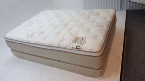 New Royal memory foam pillow top full size set for Sale in Burbank, CA