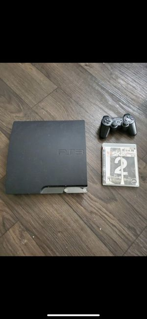 Ps3 with game and controller for Sale in Fort Lauderdale, FL