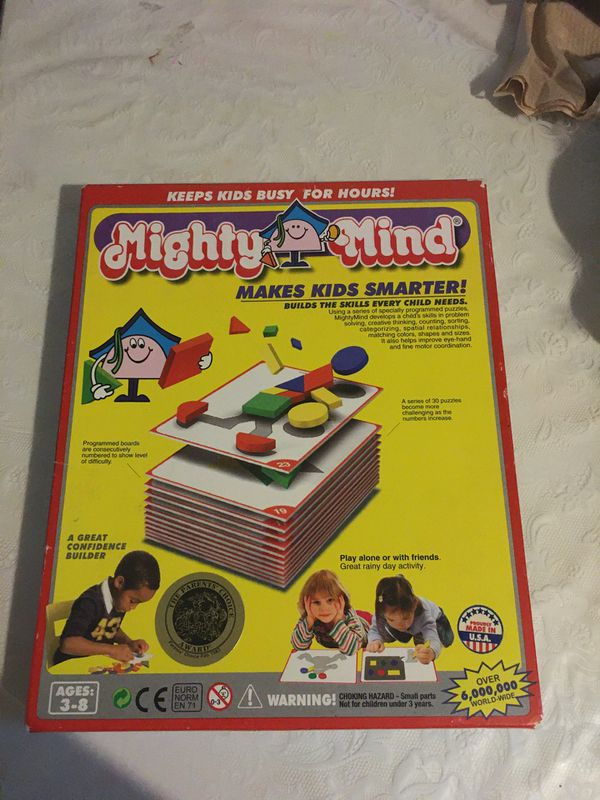 Mighty mind puzzle game