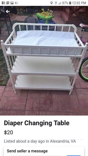 Changing table for Sale in Newark, OH
